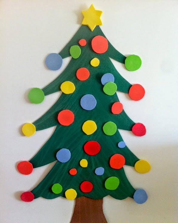 Arbol de navidad casero 1