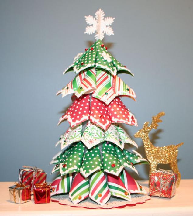Arbol de navidad casero 2