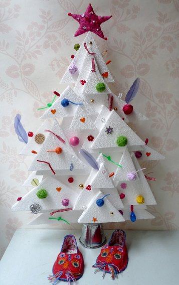 Ideas originales para el rbol de navidad decoraci n fiestas for Adornos originales para navidad