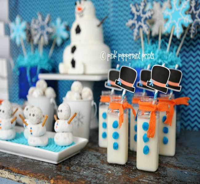 Decorar una fiesta de frozen 3