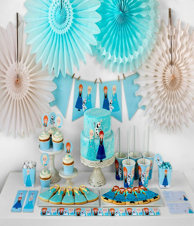 Decorar una fiesta de frozen 6