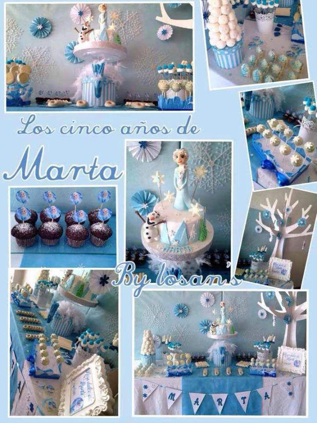 Decorar una fiesta de frozen