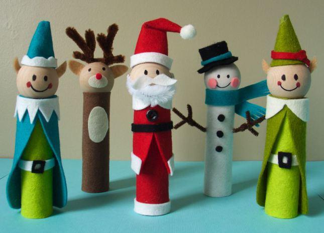 4 Adornos navideños para hacer con niños
