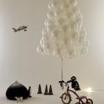 Arbol de Navidad de globos
