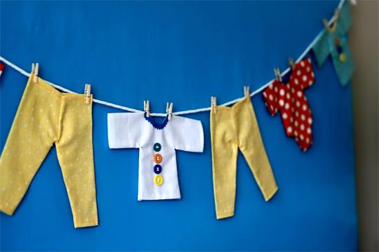 Baby Shower decoración pared