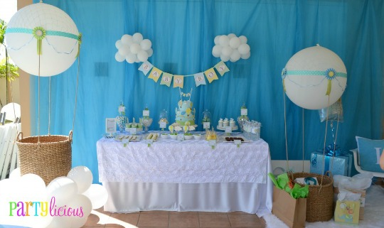 Decoraci n baby shower ideas decoraci n celebraciones for Novedades para baby shower
