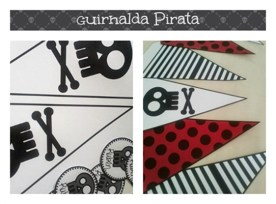 Guirnalda Pirata para imprimir