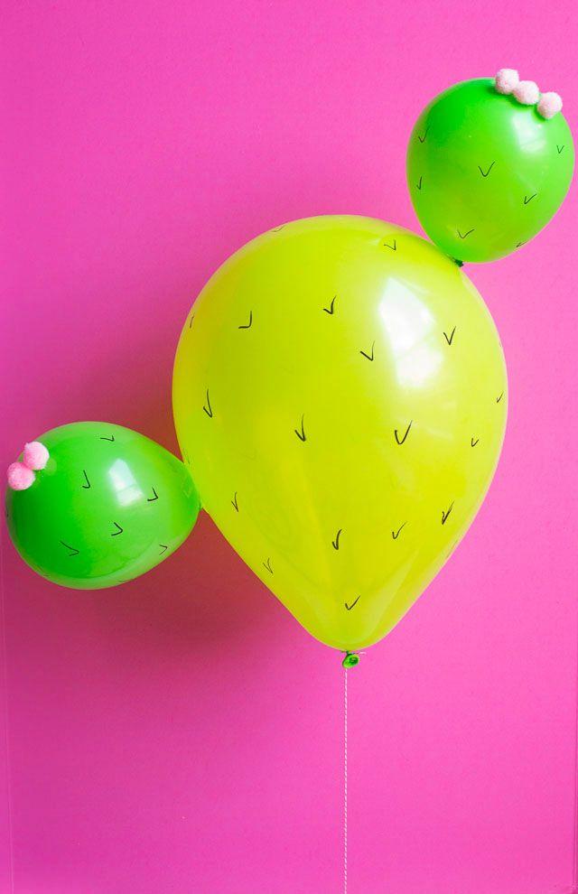 Cómo hacer Cactus con globos