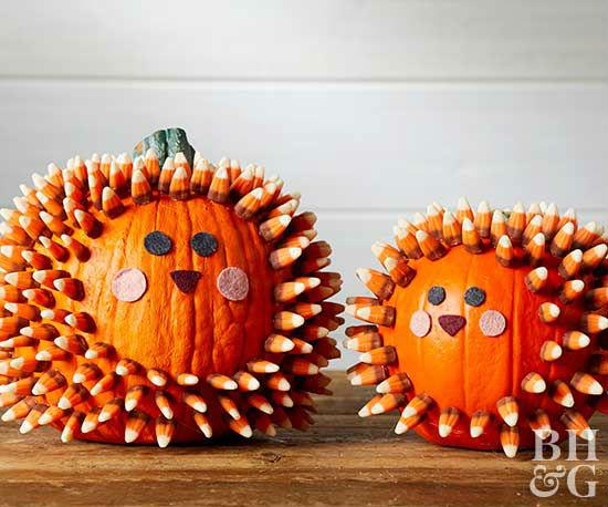 10 Ideas para decorar calabazas Halloween sin vaciar