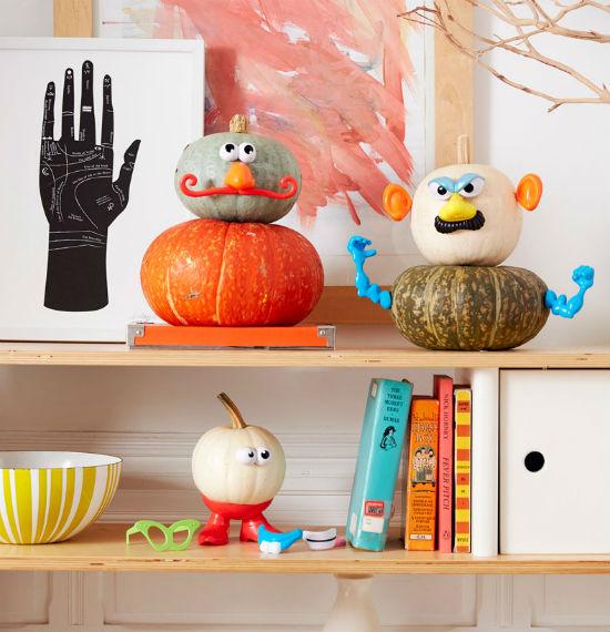 10 ideas para decorar calabazas halloween sin vaciar - Calabazas decoradas ...