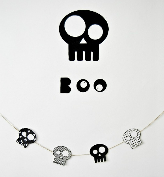Calaveras halloween para imprimir decoraci n fiestas - Decoracion halloween para imprimir ...
