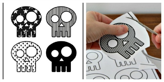 Calaveras Halloween para imprimir - DECORACIÓN FIESTAS