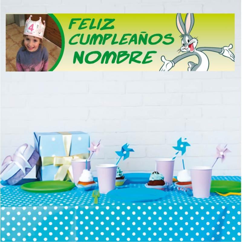 carteles personalizables para cumpleaños