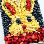 Receta para Pascua: conejito de frutas