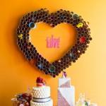 DIY corazón gigante para decorar