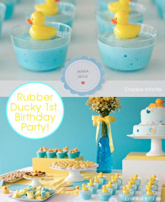 Ideas para el primer cumpleaños del bebé