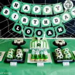 Fiesta de cumpleaños Fútbol