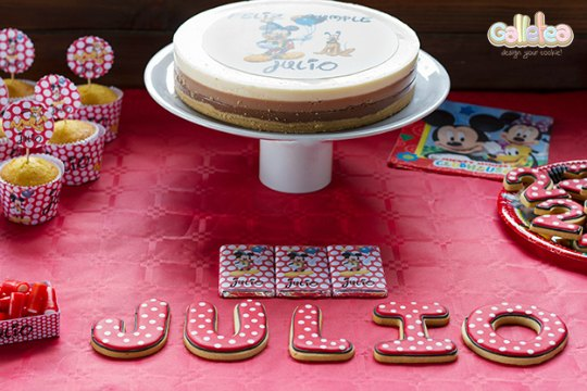 Mesa dulce de Mickey Mouse