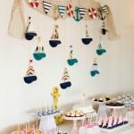 Ideas para una adorable fiesta náutica