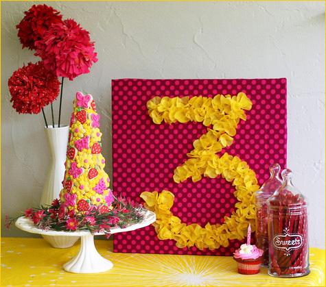 Manualidades para decorar un cumpleaños