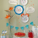 Decoración creativa para fiesta infantil