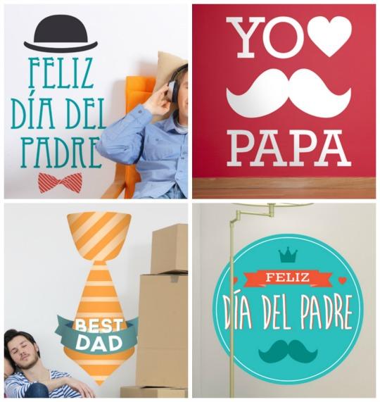 Vinilos decorativos Feliz Día del Padre