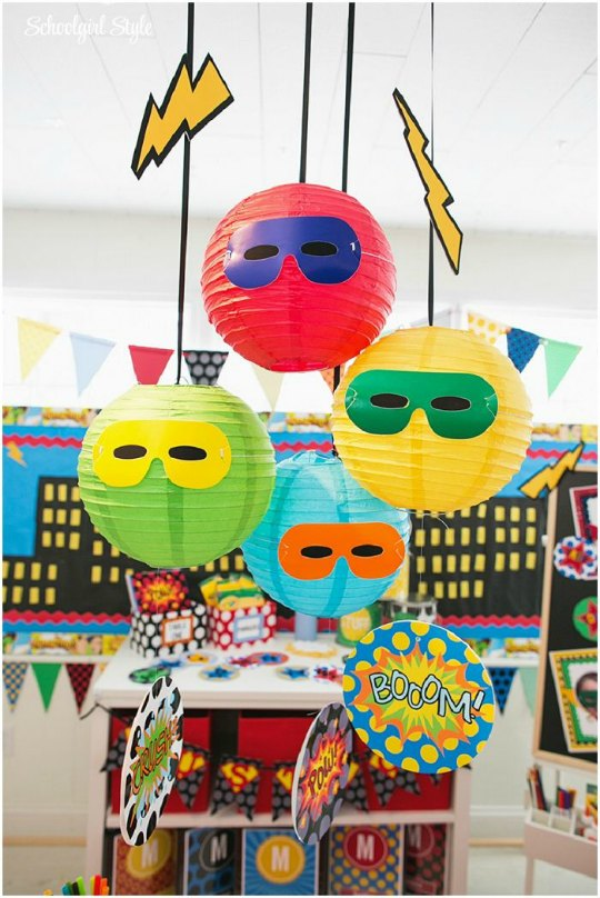 decoracion-fiesta-superheroes