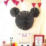 DIY decoración sencilla de Mickey