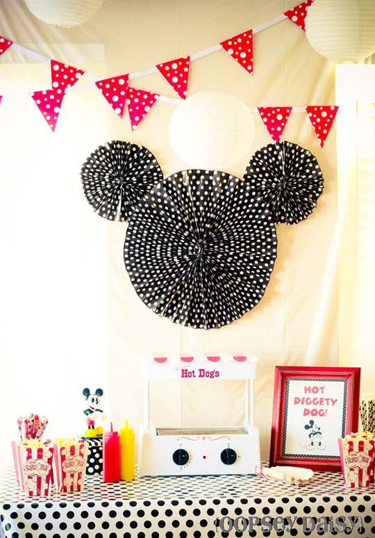 DIY decoración sencilla de Mickey