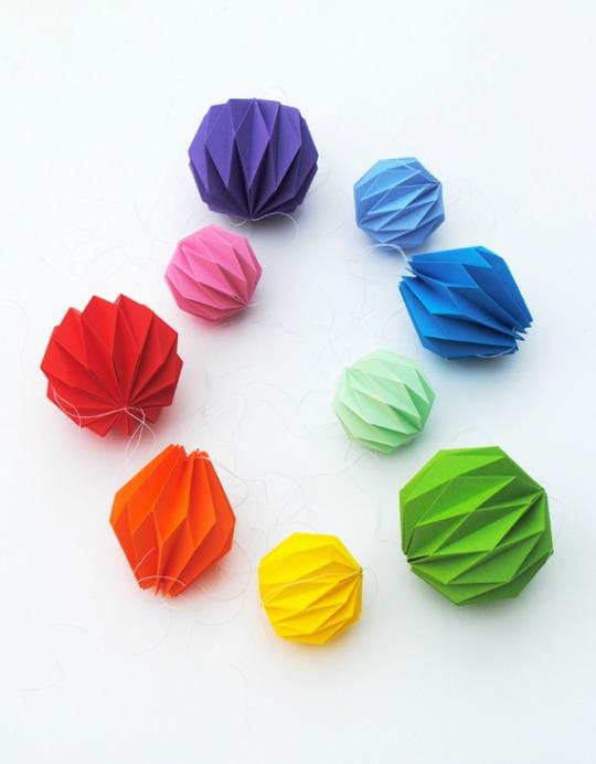 decoracion-origami