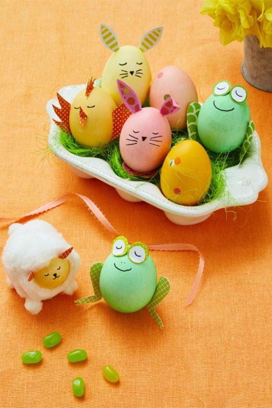 Decorar huevos de Pascua