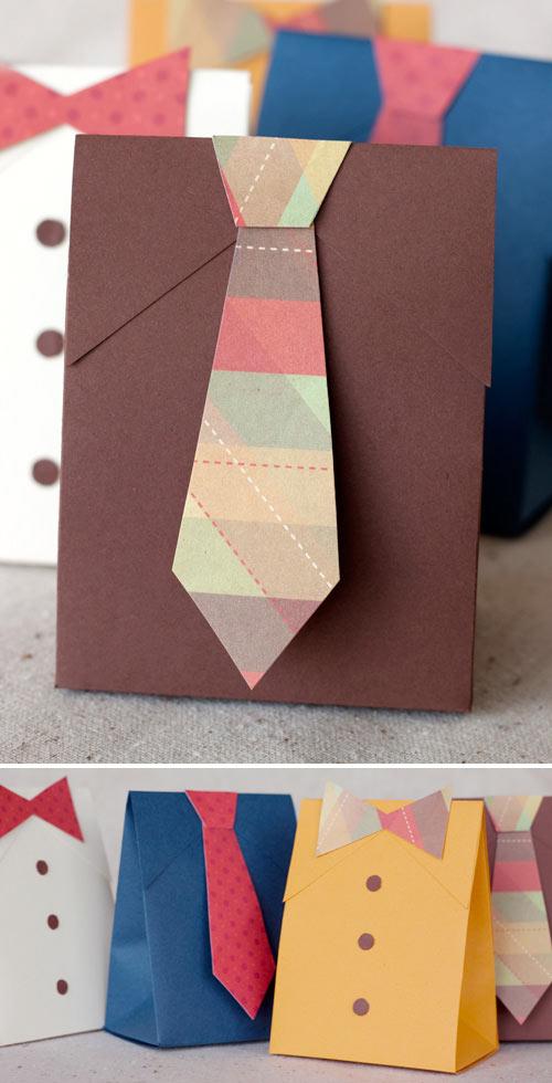Envolver regalos Día del Padre - Ideas