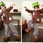 DIY: Disfraz infantil Frankenstein
