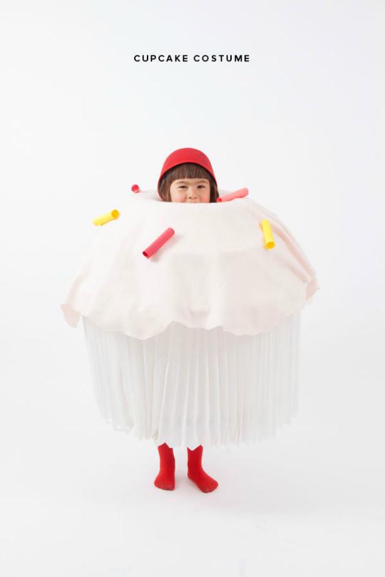 Disfraz de Cupcake DIY