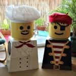 Disfraz casero Lego