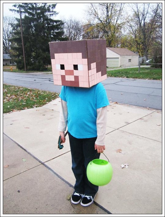 Disfraz casero Minecraft