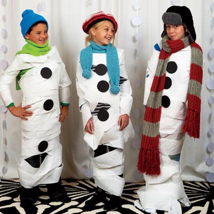 disfraz-muñeco-nieve-niños