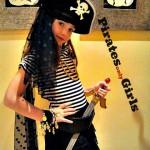 Disfraz Pirata para niñas