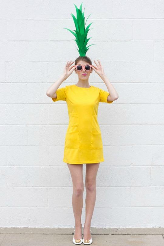 Disfraz exprés de Piña