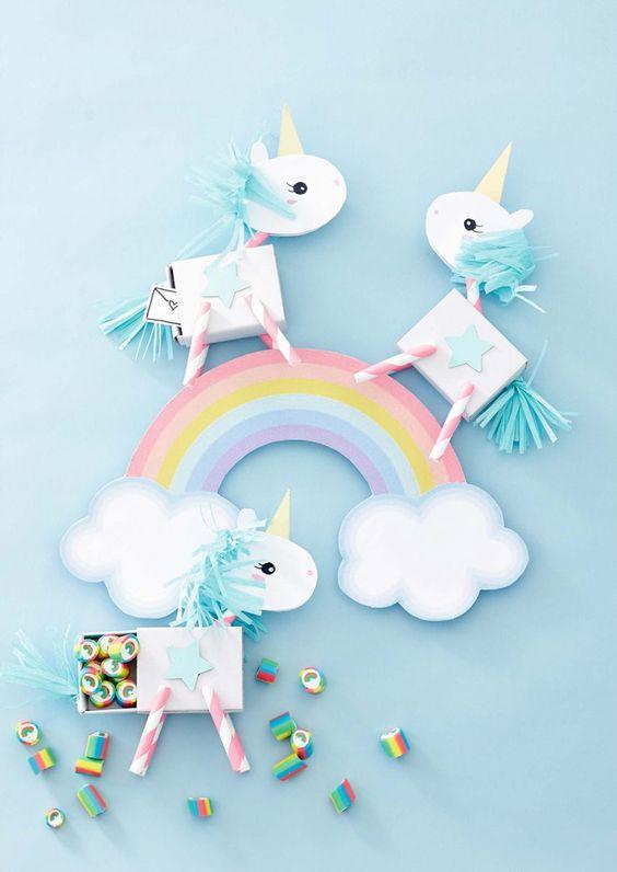 envoltorios creativos unicornios