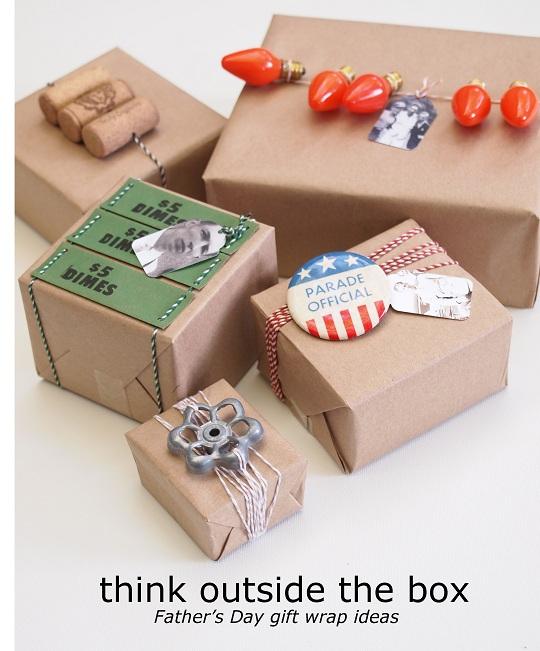 Ideas para envolver los regalos del Día del Padre