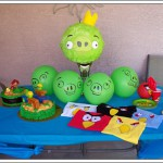 Fiesta infantil de Angry Birds