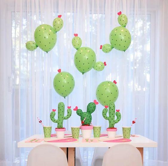 Ideas para una fiesta temática Cactus