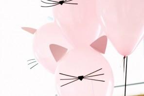 Cumpleaños Gatitos con imprimibles