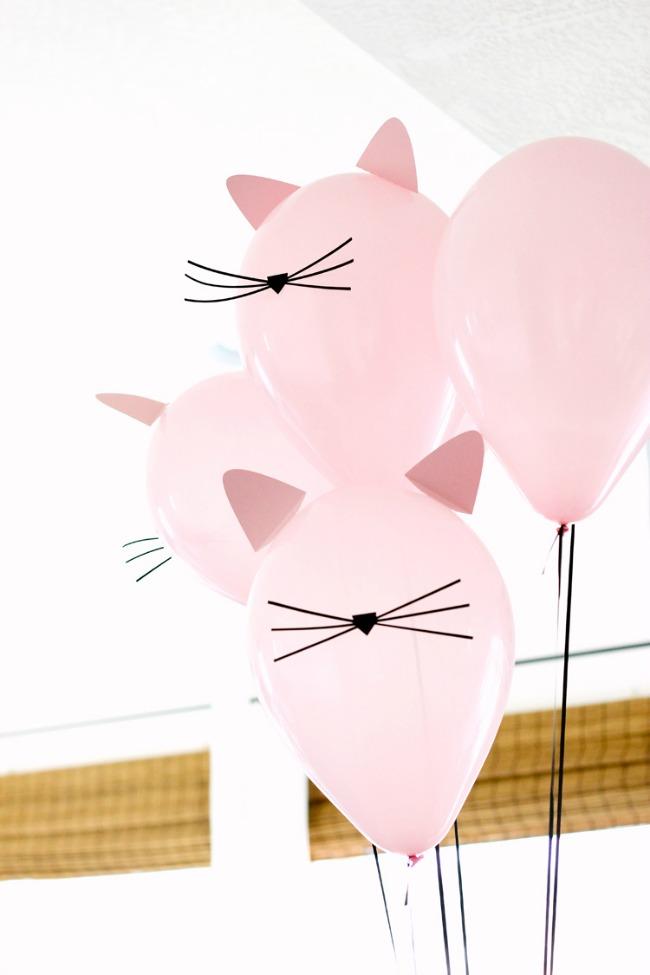 Cumplea os gatitos con imprimibles decoraci n fiestas - Arreglar silla oficina se queda baja ...