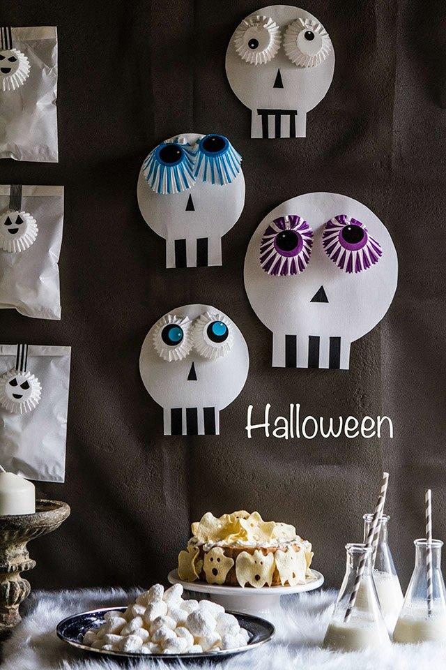 Inspiraci n para una fiesta de halloween casera - Decoracion halloween casera ...
