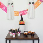 Fiesta infantil Halloween a todo color