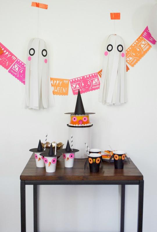 Fiestas Halloween - Ideas para la decoración de fiestas de Halloween