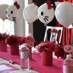Como decorar globos de Hello Kitty
