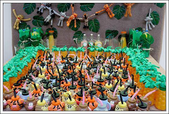 cumpleaos temtico la jungla